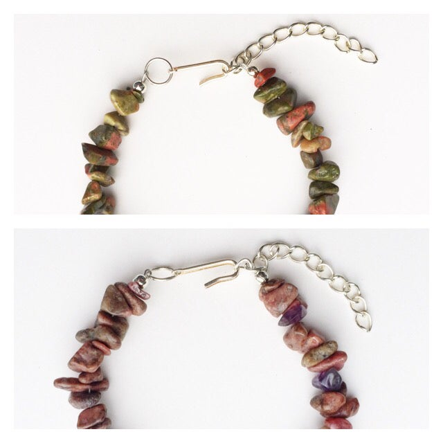 Image of Gemstone Chip Bracelet