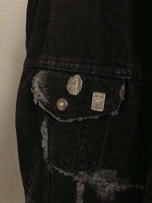 Image of Black Sherpa Lined Up-Cycled Levi's Jacket (1of1)