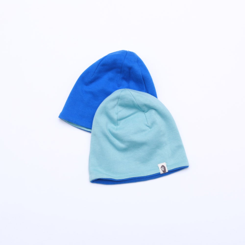 Image of Snuggle Reversible Beanies . more colours