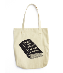 Image of Things I Lost In Bags - tote bag