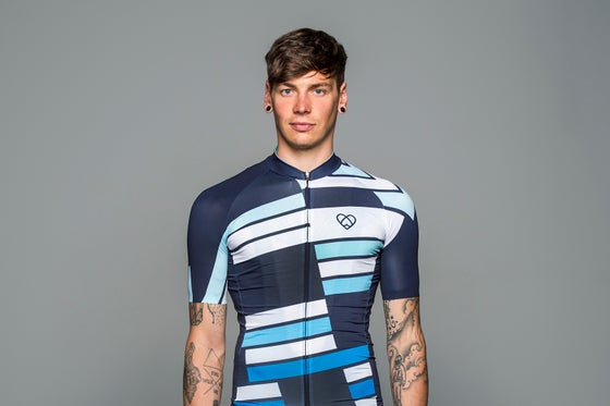 Image of INCLINAISON JERSEY NAVY (MEN)