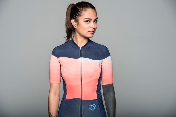 Image of SUMMIT JERSEY ORANGE (WOMEN)