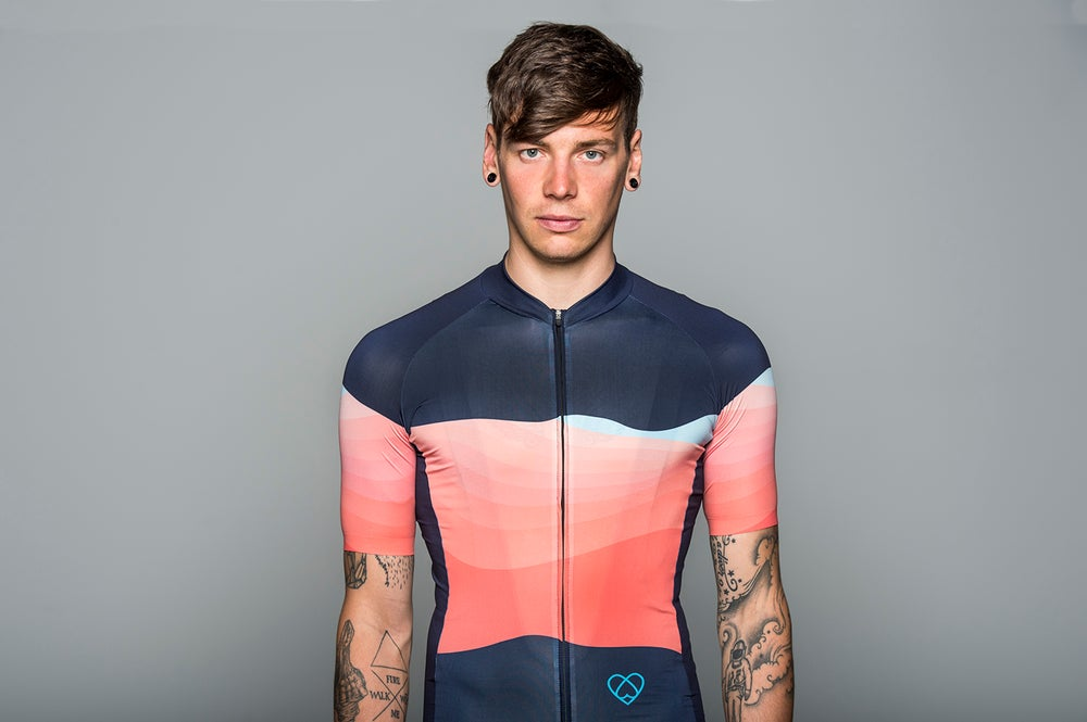 Image of SUMMIT JERSEY ORANGE (MEN)