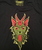 Image of Kim Saigh- Krampus Cat T-shirt / NO OVERSEAS SHIPPING
