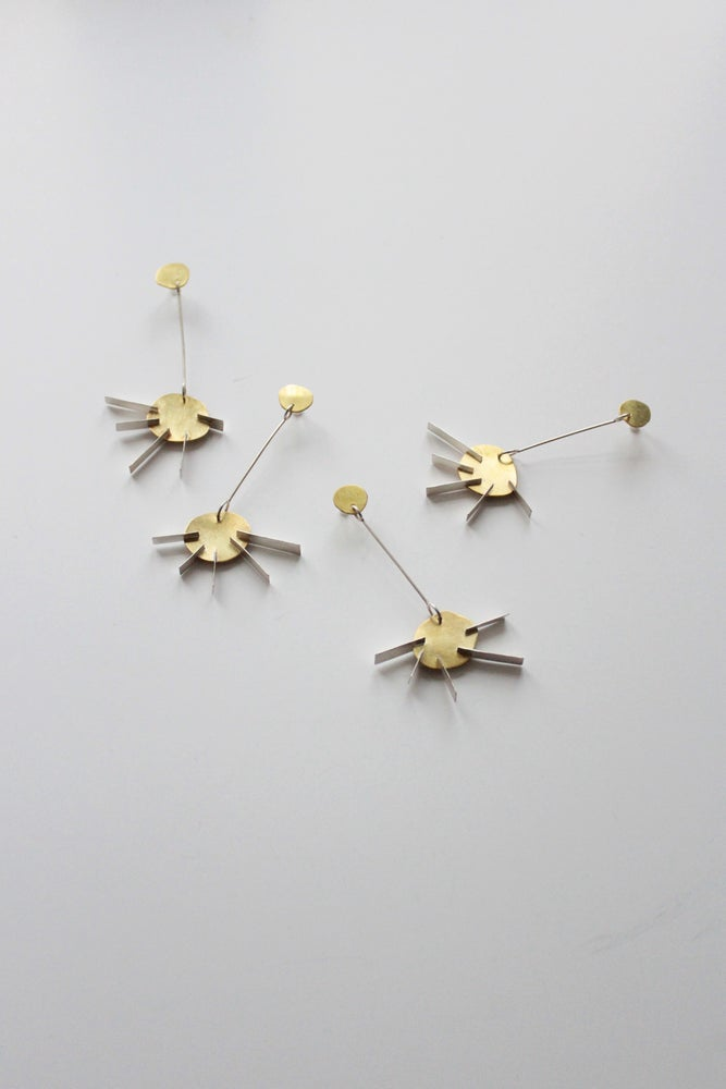 Image of SUN EAR RINGS