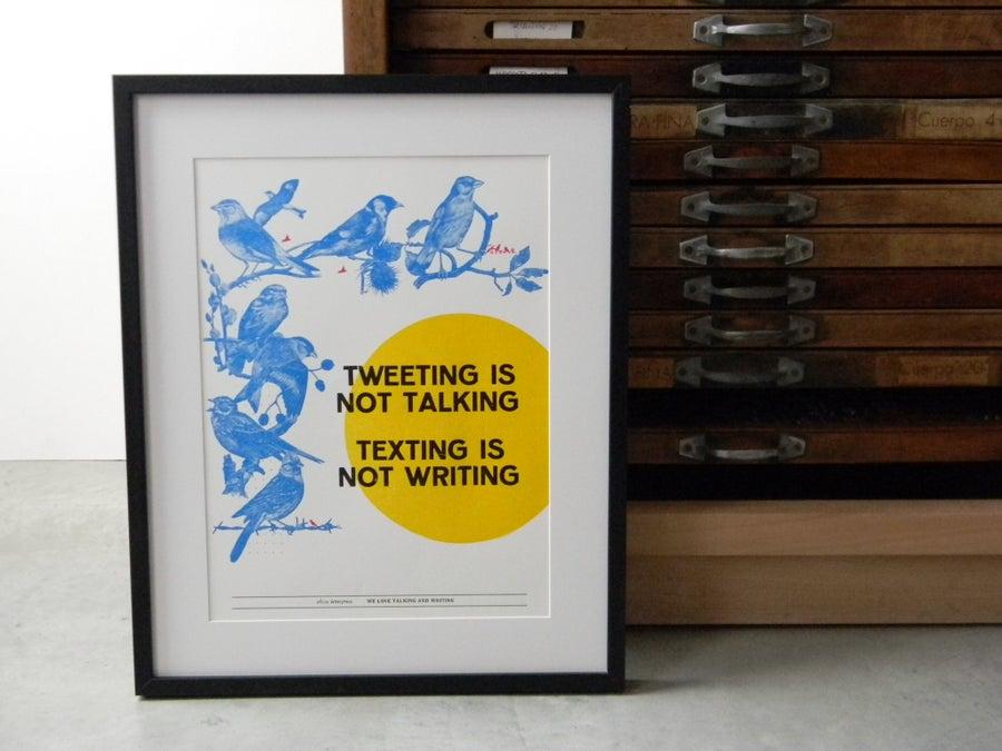 Image of Tweeting