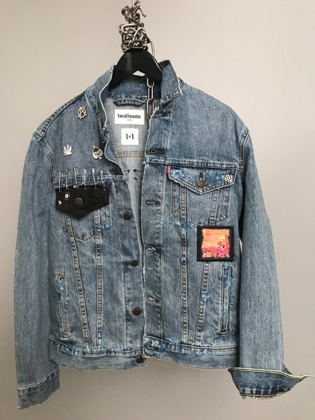Image of Skate Punk Denim Jacket 1of1