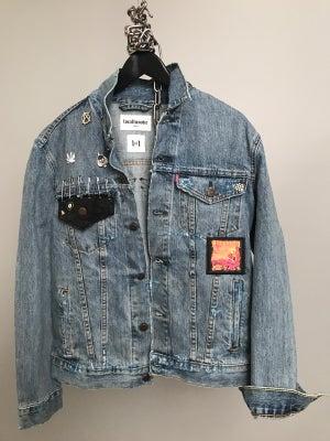 Image of Skate Punk Denim Jacket 1of1