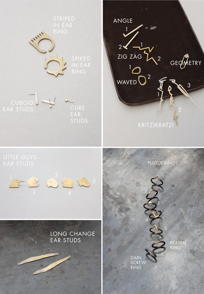 Image of Sample Sale - Rings, Bracelets, Ear Rings