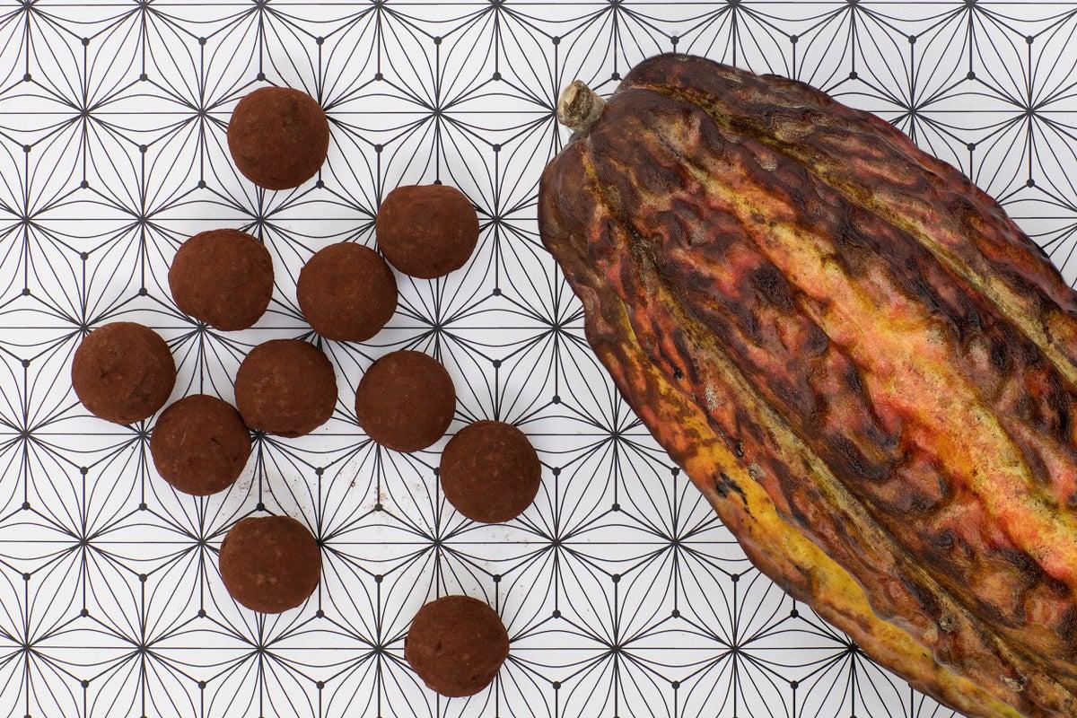 Image of chocolate truffles