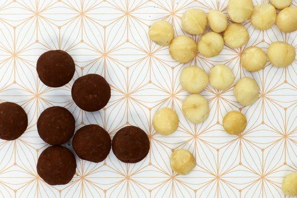Image of Macadamia nut truffles