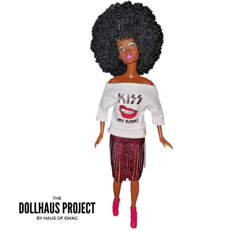Image of Kiss My Kinks | Afro Hair Doll