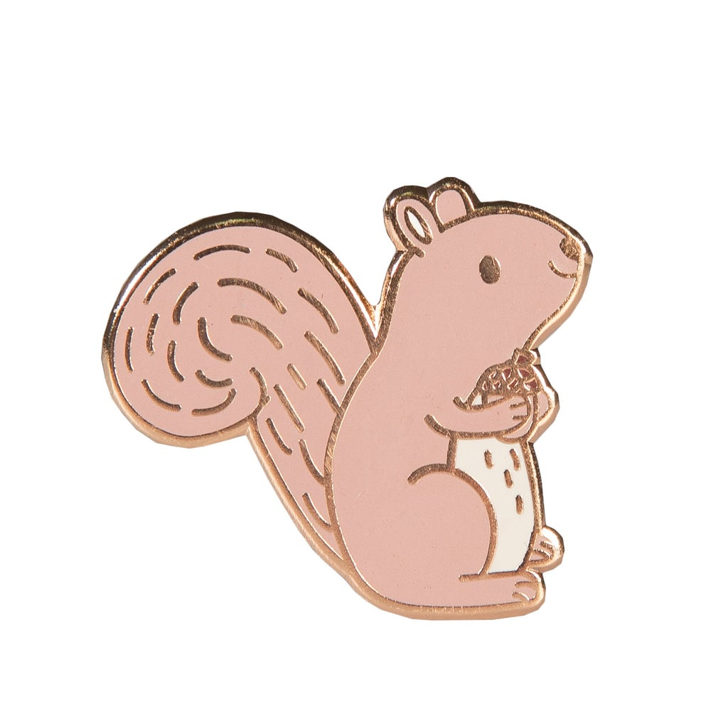Image of Squirrel Enamel Pin