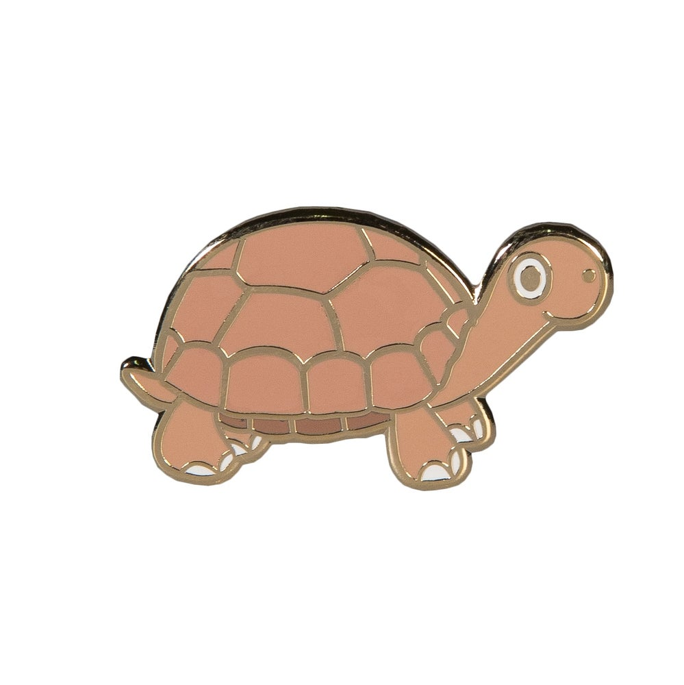 Image of Tortoise Enamel Pin