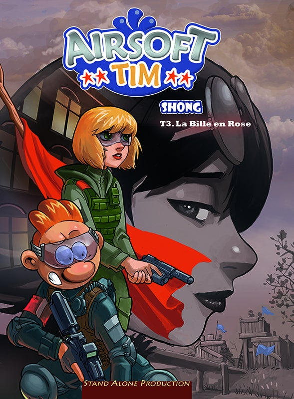 "Image of Airsoft TIM : tome 3 "" La Bille en Rose """