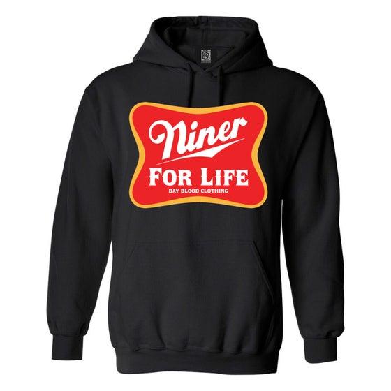 Image of NINER FOR LIFE HOODIE (black)