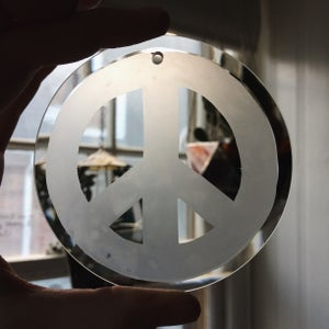 Image of Peace Suncatcher Ornament