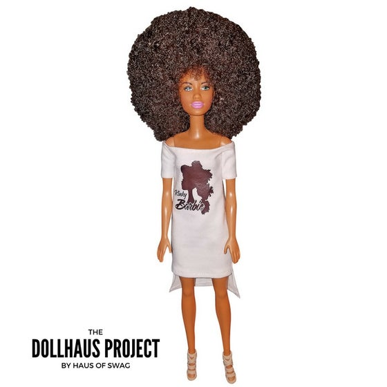Image of Kinky Barbie | Big Haired Afro Fashion Collector Doll