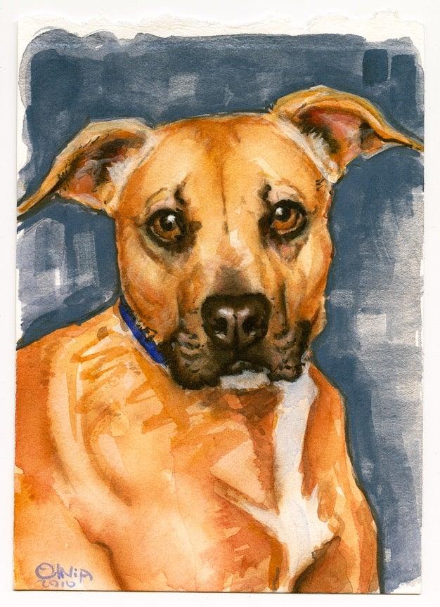 Image of Olivia 'Fawn' Best Friends original art