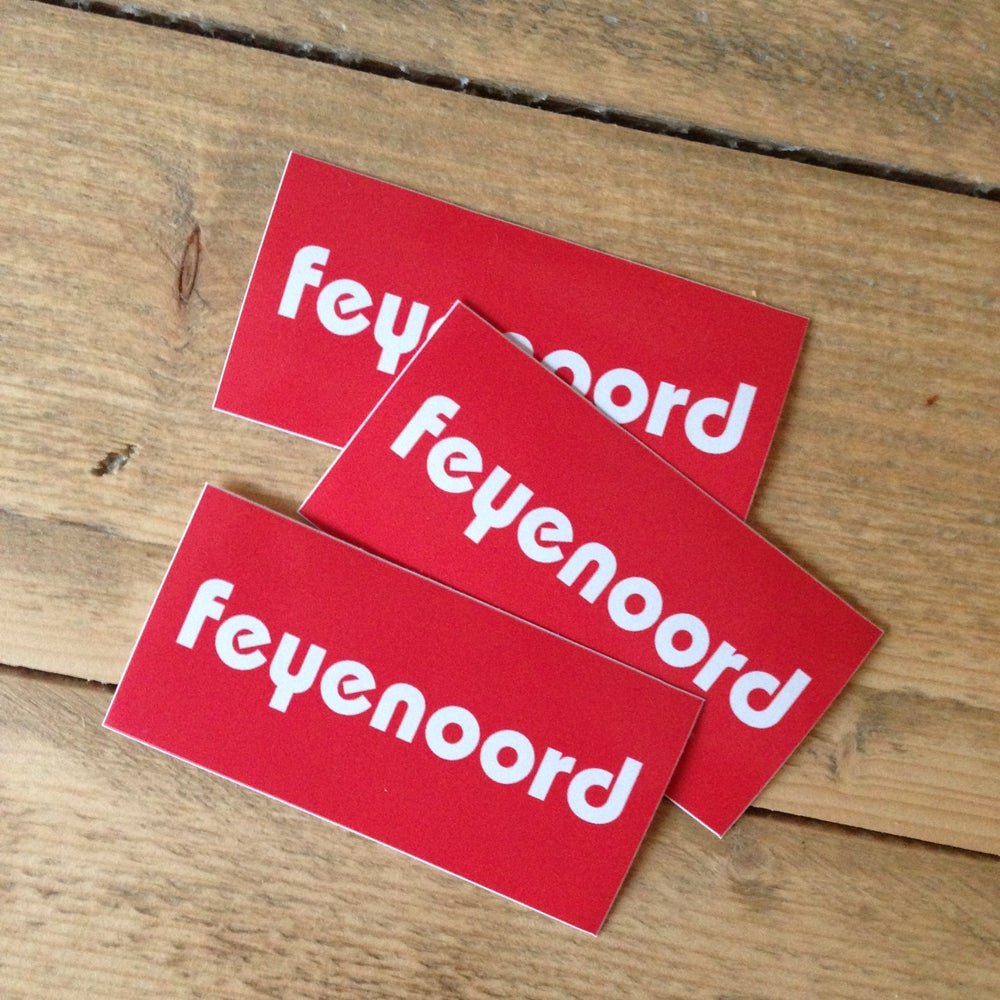 Image of 3 stickers: busblusser rood