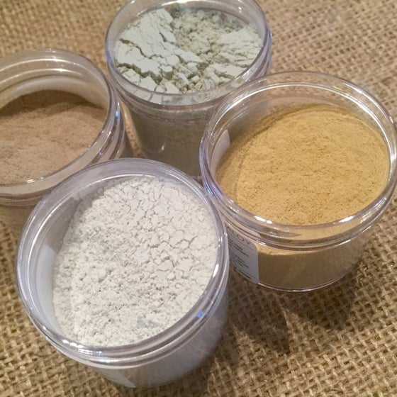 Image of Botanical & Fruit Clay Masks