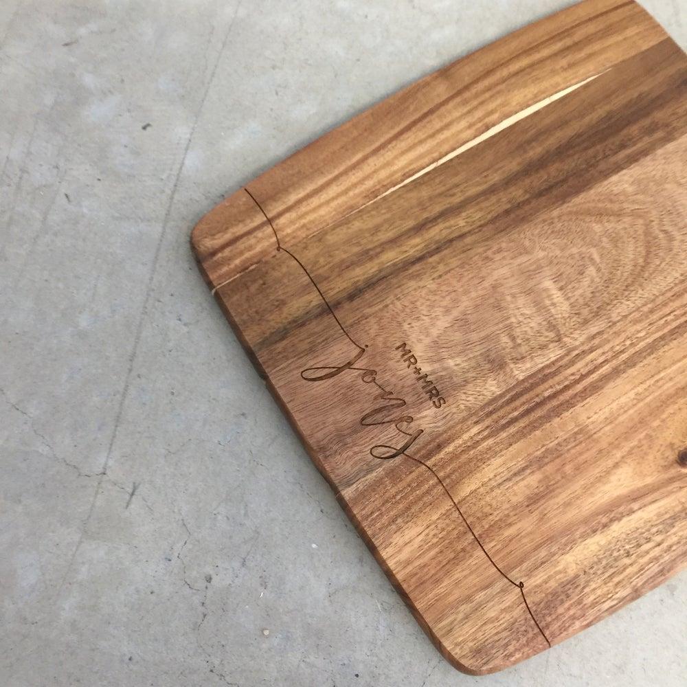 Image of Custom paddle board