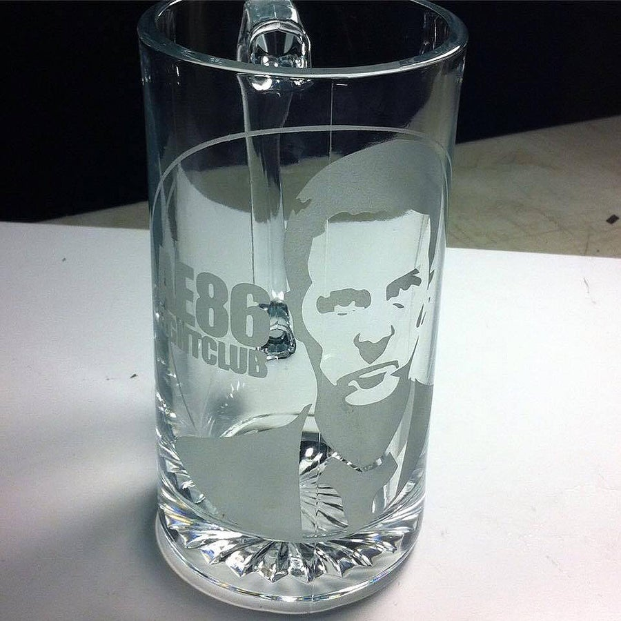 Image of AE86Fightclub Glass Mug