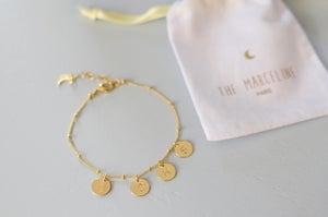 Image of Bracelet Petites médailles à personnaliser
