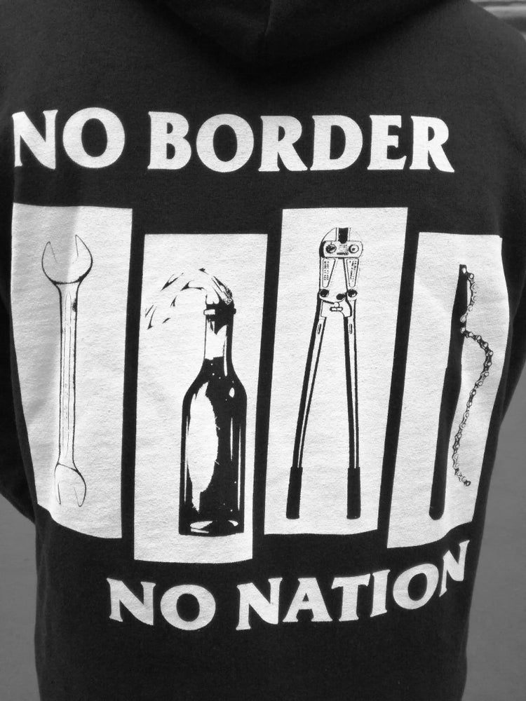 Image of No Border No Nation Zipper