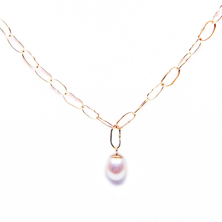 Image of Drishti Necklace 9kt Yellow Gold Pearl