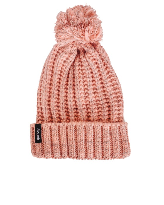Image of Cotton Candy Pom Pom Beanie
