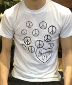 Image of PEACE SIGN T SHIRT