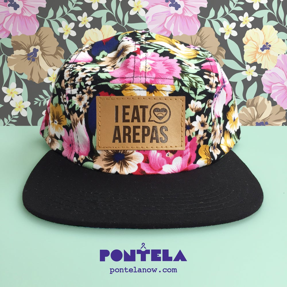 Image of I Eat Arepas Leather Forest