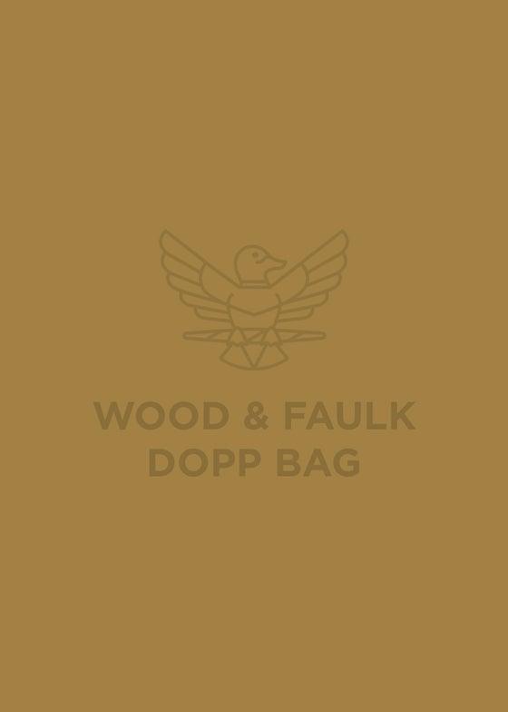 Image of Wood & Faulk Dopp Bag