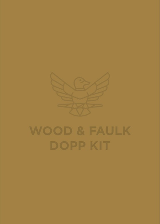 Image of Wood & Faulk Dopp Kit