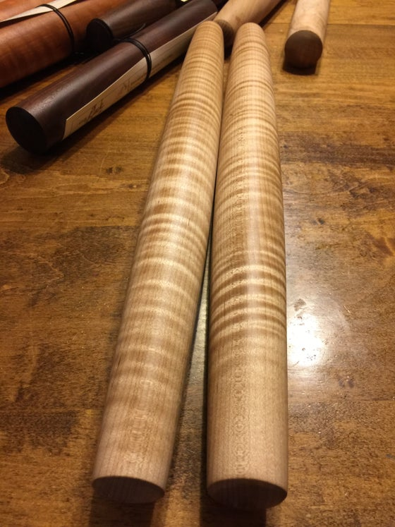 Image of Curly Maple French Rolling Pin