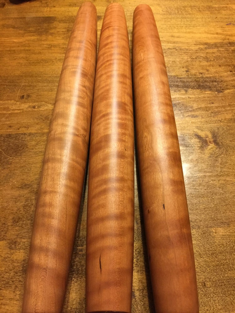 Image of Curly Cherry French Rolling Pin