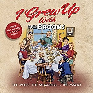 Image of I Grew up with the Broons - 4 Disc CD