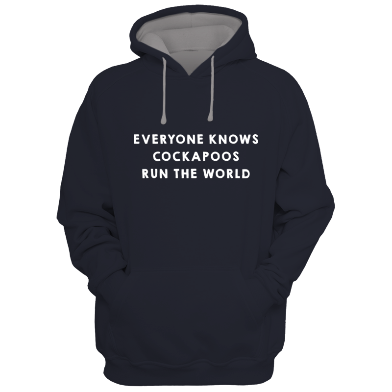 Image of Cockapoos Run the World Hoodie
