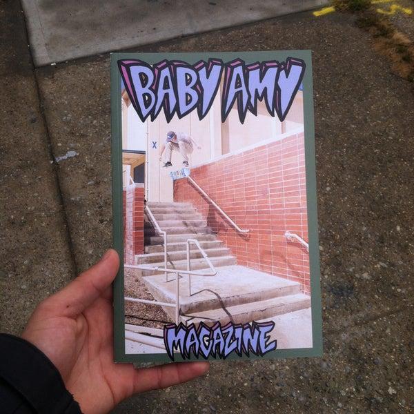 Image of BABY AMY SKATE MAGAZINE ISSUE #1
