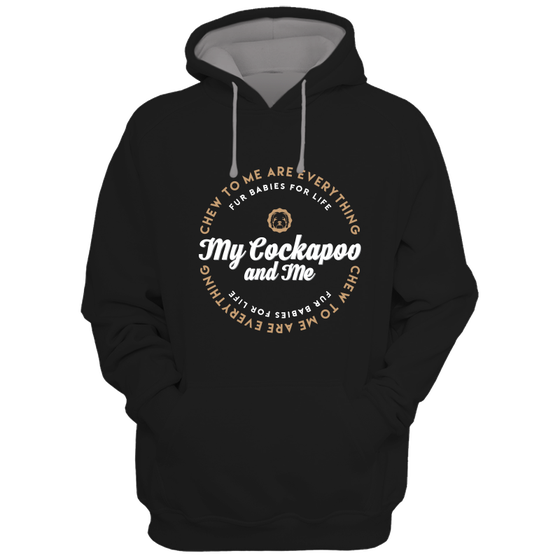 Image of My Cockapoo and Me Hoodie