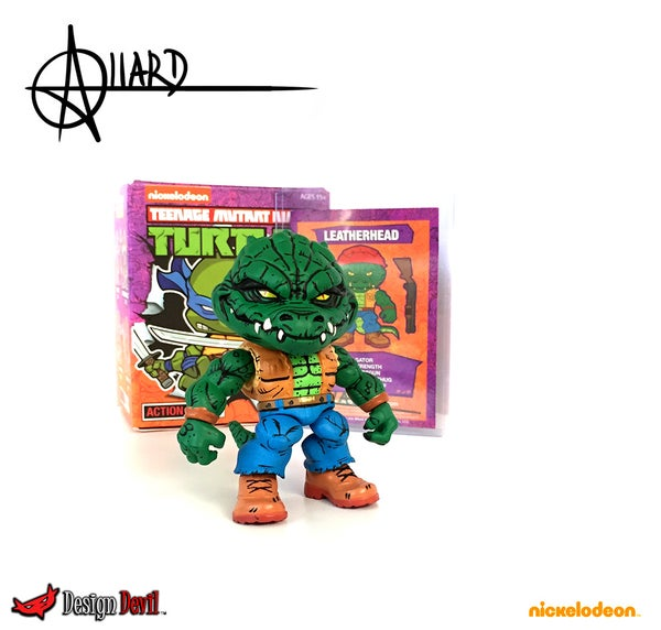 Image of Custom Comic Deatail Leatherhead