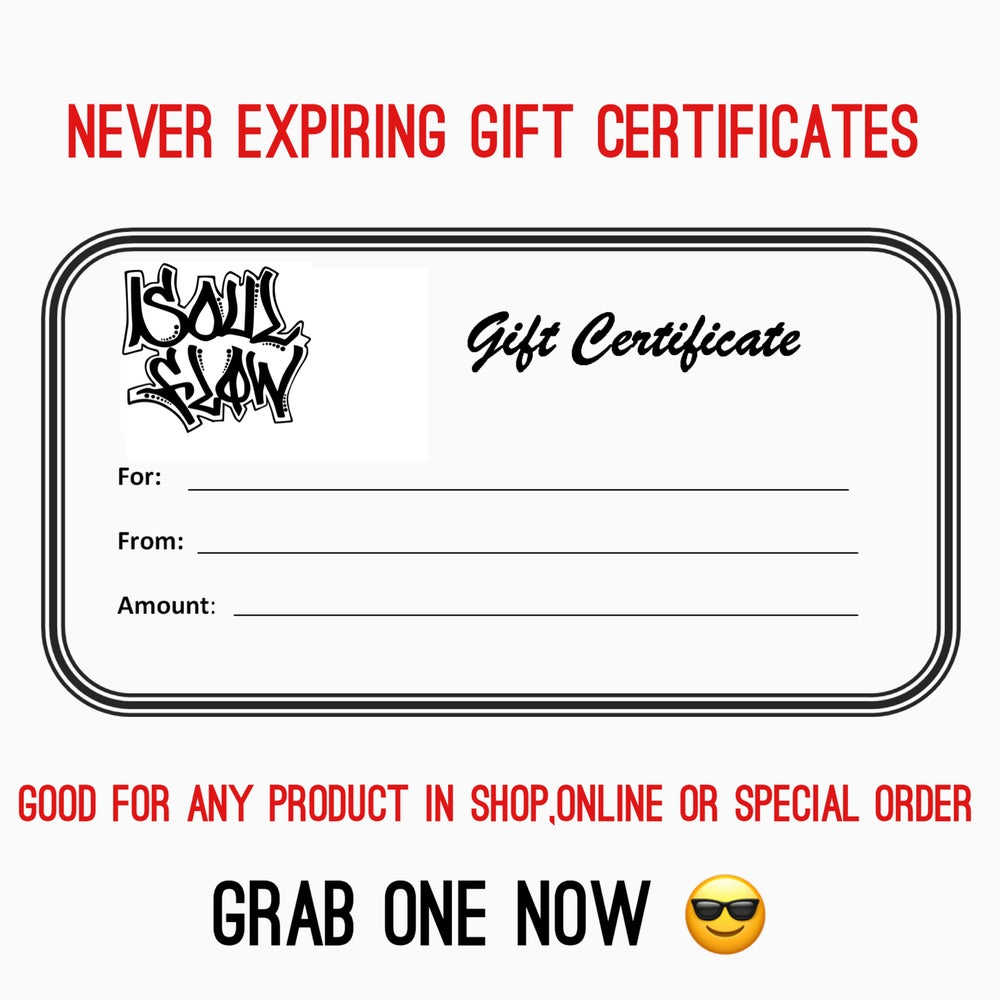 Image of Gift Certificate!!!! $10.00 and up! Ships free !