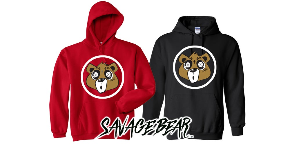 Image of NEW SAVAGE BEAR HOODIES