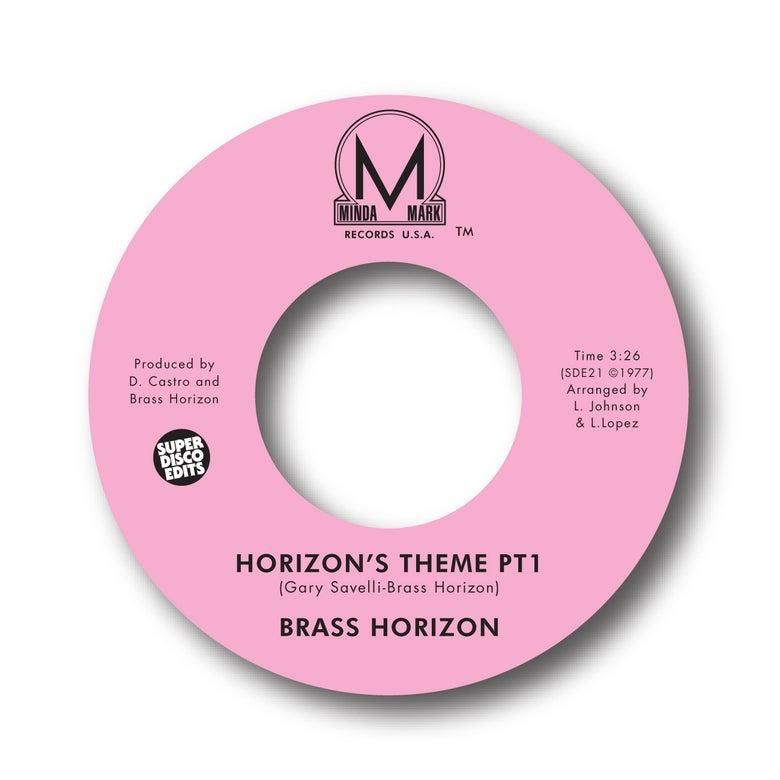 """Image of BRASS HORIZON """"HORIZONS THEME PT1&2"""" MINDA MARK"""