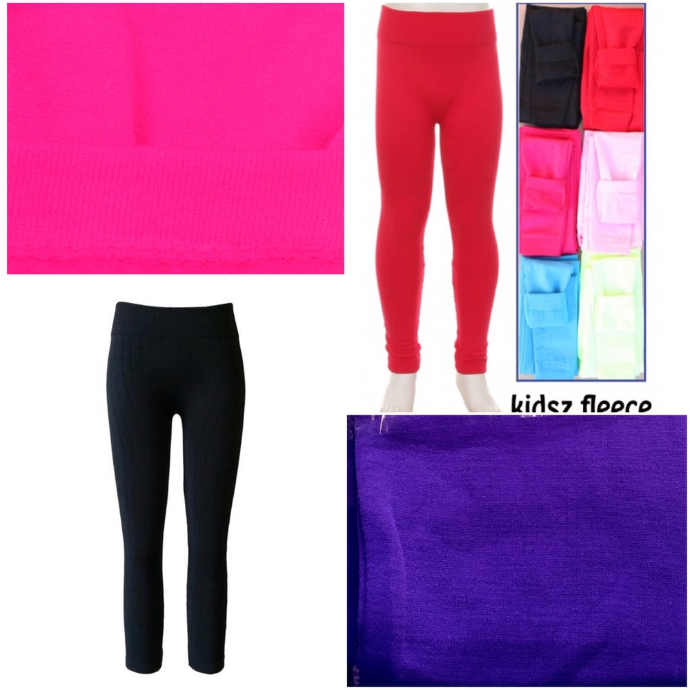 Girls' Fleece Lined Leggings / Free State Clothiers