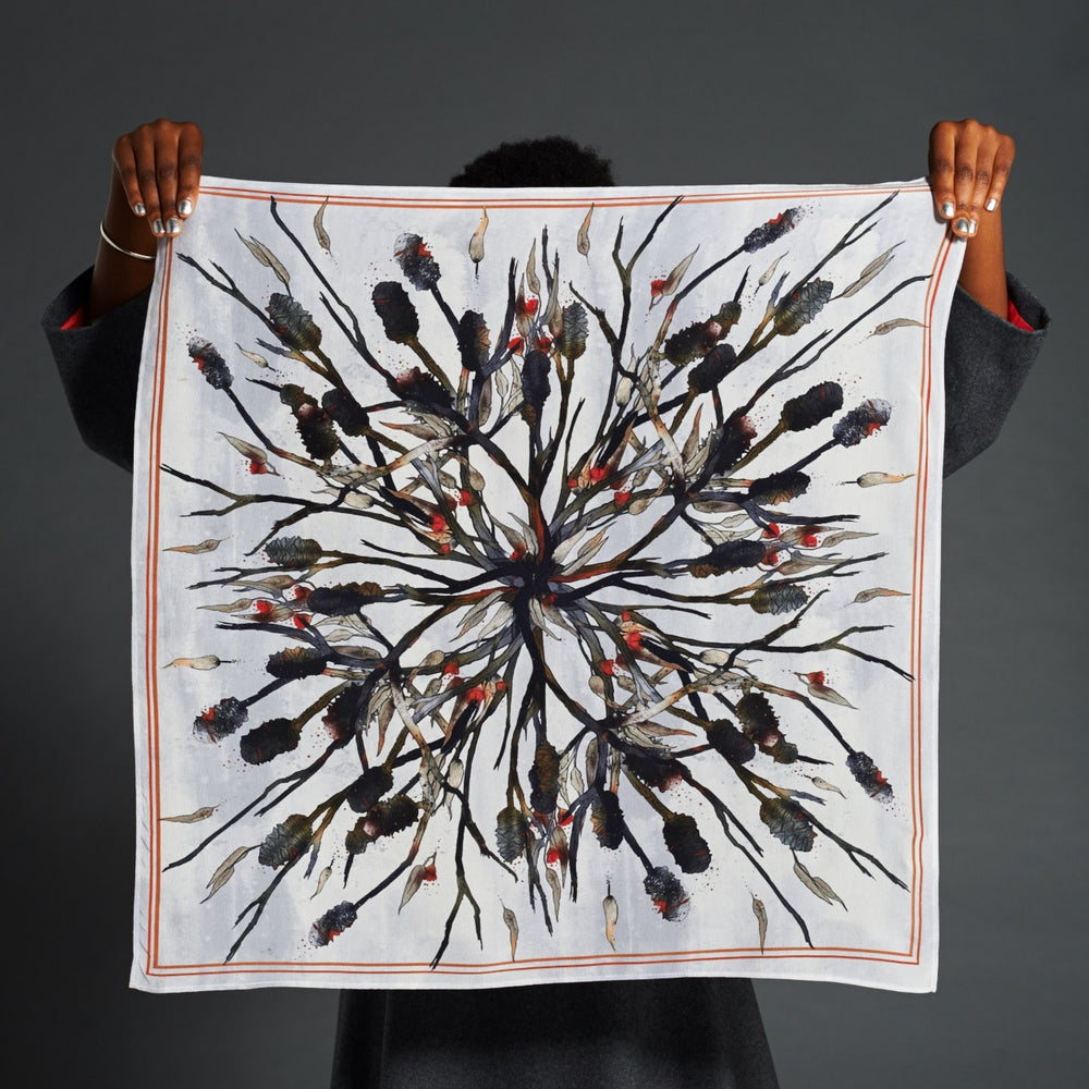 Image of After the Fire Print Scarf - Small