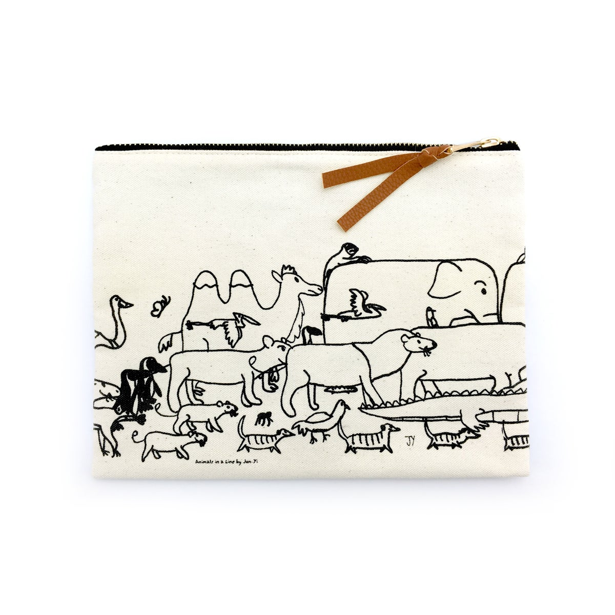 Image of Canvas Pouch - The Animals Exodus