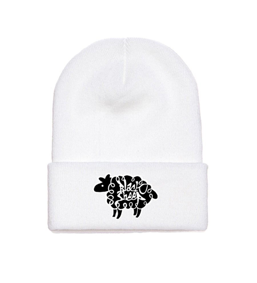 Image of LOGO BEANIE (SNOW)