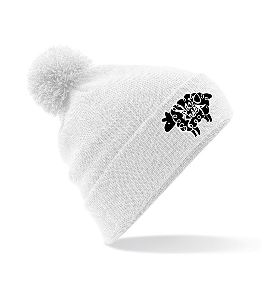 Image of BOBBLE BEANIE (SNOW)